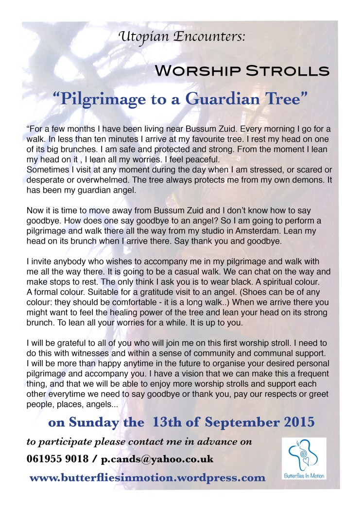 Worship Strolls- Pilgrimage to a Guardian Tree